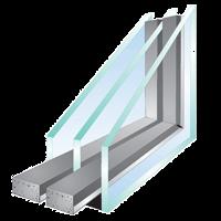 vetro camera doppio